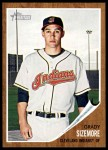 2011 Topps Heritage #97  Grady Sizemore  Front Thumbnail