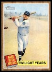 2011 Topps Heritage #141 BR  -  Babe Ruth Twilight Years Front Thumbnail
