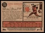 2011 Topps Heritage #156  Hank Conger  Back Thumbnail