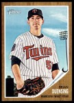2011 Topps Heritage #124  Brian Duensing  Front Thumbnail
