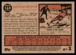 2011 Topps Heritage #169  Curtis Granderson  Back Thumbnail