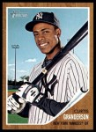 2011 Topps Heritage #169  Curtis Granderson  Front Thumbnail