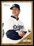 2011 Topps Heritage #217  Don Mattingly  Front Thumbnail