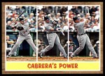 2011 Topps Heritage #314   -  Miguel Cabrera Cabrera's Power Front Thumbnail