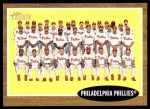 2011 Topps Heritage #294   Phillies Team Front Thumbnail