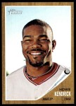 2011 Topps Heritage #365  Howie Kendrick  Front Thumbnail