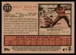 2011 Topps Heritage #275  Billy Butler  Back Thumbnail