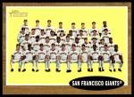 2011 Topps Heritage #226   Giants Team Front Thumbnail