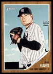 2011 Topps Heritage #376  Phil Hughes  Front Thumbnail