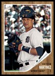 2011 Topps Heritage #371  Victor Martinez  Front Thumbnail