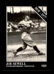 1991 Conlon #40  Joe Sewell  Front Thumbnail