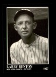 1991 Conlon #182  Larry Benton  Front Thumbnail