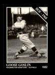 1991 Conlon #62  Goose Goslin  Front Thumbnail