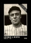 1991 Conlon #158   -  George J. Burns 1916 League Leaders Front Thumbnail