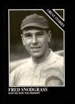 1991 Conlon #168   -  Fred Snodgrass Story Front Thumbnail