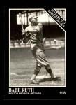 1991 Conlon #145   -  Babe Ruth 1916 Champs Front Thumbnail