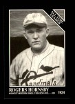 1991 Conlon #251   -  Rogers Hornsby All-Time Leaders Front Thumbnail