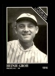 1991 Conlon #163   -  Heinie Groh 1916 League Leaders Front Thumbnail