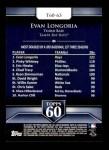 2011 Topps 60 #63 T-60 Evan Longoria  Back Thumbnail