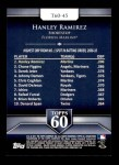 2011 Topps 60 #45 T-60 Hanley Ramirez  Back Thumbnail