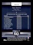 2011 Topps 60 #46 T-60 Ike Davis  Back Thumbnail