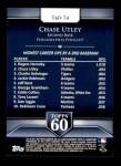 2011 Topps 60 #74 T-60 Chase Utley  Back Thumbnail