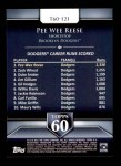 2011 Topps 60 #121 T-60 Pee Wee Reese  Back Thumbnail