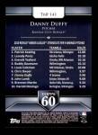 2011 Topps 60 #141 T-60 Danny Duffy  Back Thumbnail