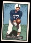 1951 Topps Magic #4  Babe Parilli  Front Thumbnail
