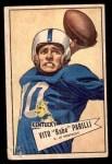 1952 Bowman Small #44  Vito Babe Parilli  Front Thumbnail