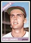 1966 Topps #340  Dean Chance  Front Thumbnail