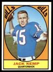 1967 Topps #24  Jack Kemp  Front Thumbnail
