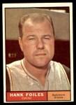 1961 Topps #277  Hank Foiles  Front Thumbnail