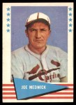1961 Fleer #61  Ducky Medwick  Front Thumbnail