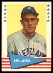1961 Fleer #5  Earl Averill  Front Thumbnail