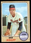 1968 Topps #203  Dick Kelley  Front Thumbnail