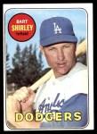 1969 Topps #289  Bart Shirley  Front Thumbnail