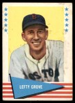 1961 Fleer #38  Lefty Grove  Front Thumbnail