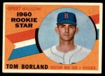 1960 Topps #117   -  Tom Borland Rookie Star Front Thumbnail