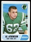 1968 Topps #195  Al Atkinson  Front Thumbnail