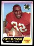 1968 Topps #67  Curtis McClinton  Front Thumbnail