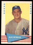 1961 Fleer #69  Allie Reynolds  Front Thumbnail