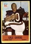 1967 Philadelphia #35  Gale Sayers  Front Thumbnail