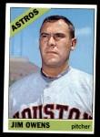 1966 Topps #297  Jim Owens  Front Thumbnail