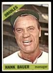 1966 Topps #229  Hank Bauer  Front Thumbnail
