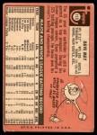 1969 Topps #113  Bob Woytowich  Back Thumbnail
