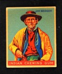 1933 Goudey Indian Gum #54  Jim Bridger   Front Thumbnail