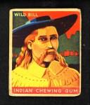 1933 Goudey Indian Gum #59  Wild Bill Hickok  Front Thumbnail