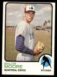 1973 Topps #211  Balor Moore  Front Thumbnail