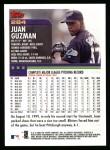 2000 Topps #284  Juan Guzman  Back Thumbnail